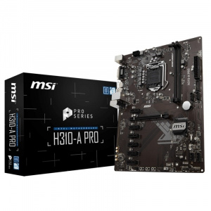 PLACA BASE 1151 MSI H310-A PRO  ATX/DDR4/USB 3.1 1