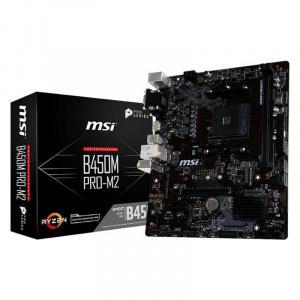 PLACA BASE AM4 MSI B450M PRO-M2 MATX/USB 3.1/HDMI/M.2 1