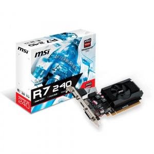 SVGA ATI RADEON MSI R7 240 2GD3  LP 2GB DDR3 1