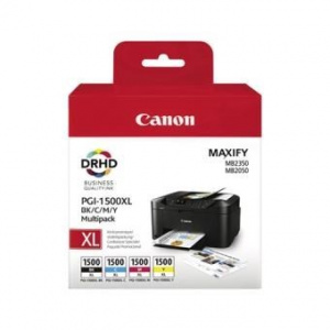 CARTUCHO CANON  PGI-1500XL C/M/Y/BK  MULTIPACK 1
