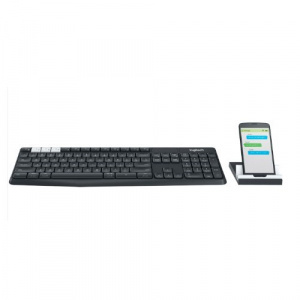 TECLADO LOGITECH BLUETOOTH K375S MULTI DISPOSITIVO 1