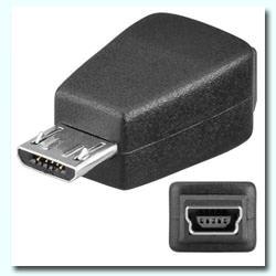 ADAPTADOR MINI USB (5PIN) H - MICRO B MACHO 1