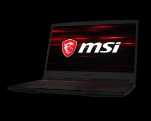 PORTATIL GAMING MSI GF63 I7-9750H/16G/512SSD/GTX1650/15/FREEDO 1