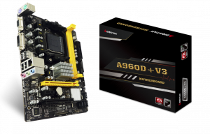 PLACA BASE AM3+ BIOSTAR  A960D+V3 MATX 1