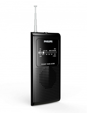 RADIO AM/FM PHILIPS AE1500 C/ NEGRO 1