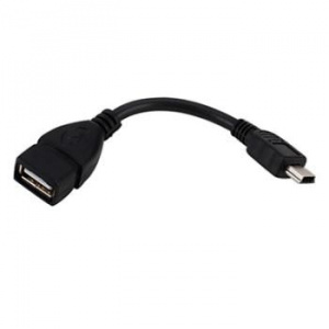 CABLE USB 2.0 TIPO MINI USB A/H OTG 0.15M 1