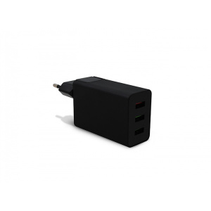 ALIMENTADOR 3GO HOGAR USB 1QC+2USB 1