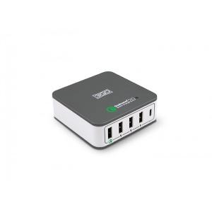 ALIMENTADOR 3GO CASA USB 1QC+3USB+1TYPE-C 40W 1