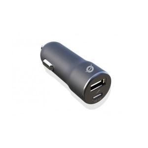 CARGADOR DE COCHE CONCEPTRONIC PD USB 2 PUERTOS 36 1