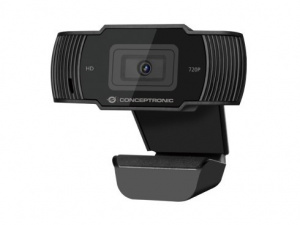 WEBCAM HD CONCEPTRONIC USB 720P/1080P INTERPOLADO 1