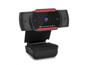 WEBCAM FHD CONCEPTRONIC USB 1080P FOCO FIJO 1