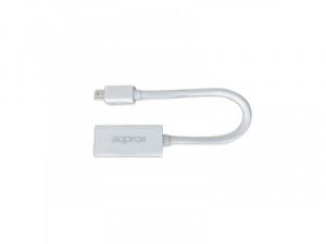 ADAPTADOR APPROX MINIDISPLAY PORT A HDMI 1