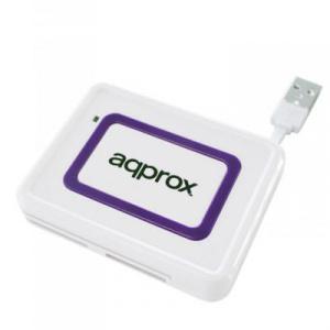 LECTOR EXTERNO USB DE TARJETAS Y DNI APPROX 1