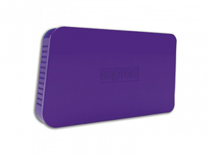 "CAJA EXTERNA HDD 2.5"" SATA-USB 2.0 APPROX MORADA 1"