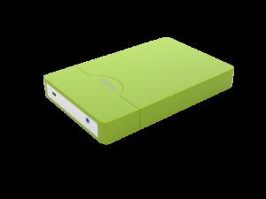 "CAJA EXTERNA HDD 2.5"" SATA-USB 3.0 APPROX VERDE 1"