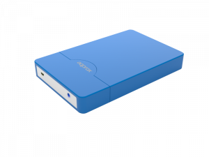 """CAJA EXTERNA HDD 2.5"""" SATA-USB 3.0 APPROX AZUL 1"""