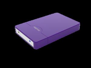"CAJA EXTERNA HDD 2.5"" SATA-USB 3.0 APPROX MORADA 1"