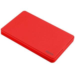 """CAJA EXTERNA HDD 2.5"""" SATA-USB 2.0 APPROX ROJA 1"""
