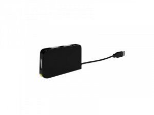 HUB USB 2.0 APPROX 4 PUERTOS NEGRO 1