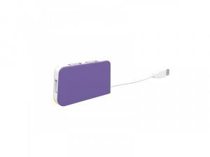 HUB USB 2.0 APPROX 4 PUERTOS MORADO 1