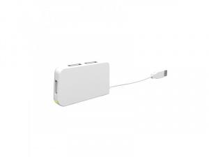 HUB USB 2.0 APPROX 4 PUERTOS BLANCO 1