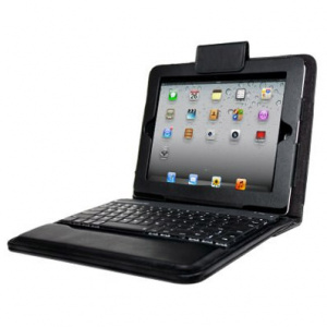 FUNDA APPROX IPAD 2/NEW IPAD NEGRA + TECLADO 1