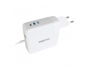 ALIMENTADOR APPROX 45/60/85W PARA APPLE MAGSAFE 1