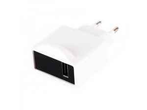 CARGADOR USB VIAJE APPROX PARED 1A BLANCO 1