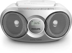 RADIO CD PHILIPS SOUNDMACHINE C/PLATA  AZ215R/12 1