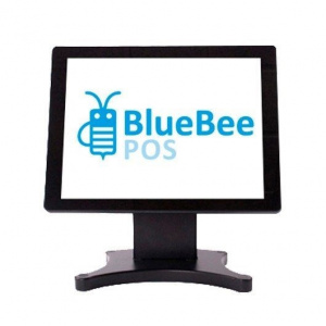 "MONITOR TACTIL BLUEBEE 15"" CAPACITIVA PLANA  P-CAP 1"