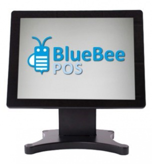 "MONITOR TACTIL BLUEBEE 17"" NEGRO USB TM-217 1"