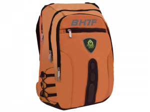 "MOCHILA KEEP OUT BK7FOXL NARANJA 17"" 1"