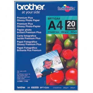 PAPEL BROTHER  INNOBELLA PREMIUM PLUS A4 20H 1