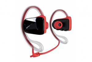 AURICULARES DE RUNNING PLAY2RUN ROJO BT 1