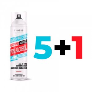 BUNDLE GEL SPRAY HIDROALCOHOLICO 5+1 1