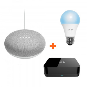 BUNDLE SPC IOT GOOGLE HOME MINI+ HORUS+SIRIUS 1050 1
