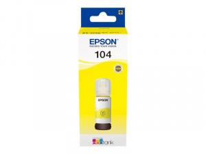 CARTUCHO EPSON T00P1  104 ECOTANK AMARILLO  65ML 1