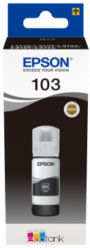 CARTUCHO EPSON T00S1  103 ECOTANK NEGRO  65ML 1