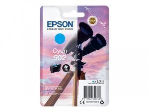 CARTUCHO EPSON 502 (BINOCULARES) CIAN 1