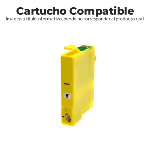 CARTUCHO COMPATIBLE  EPSON 603XL AMARILLO XP-2100 1