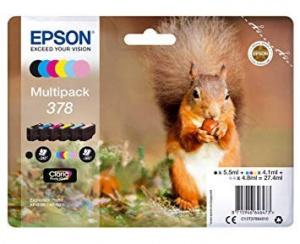 MULTIPACK CARTUCHOS EPSON 378 6 COLORES 1