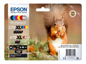 CARTUCHO EPSON 478XL MULTIPACK 4 COLORES 1