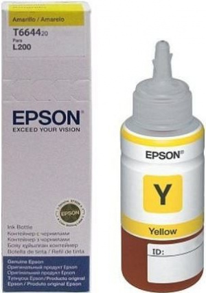 CARTUCHO EPSON T6644 YELLOW INK BOTTLE 70ML ECOT 1