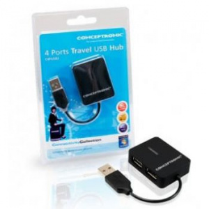 HUB USB 2.0 MINI CONCEPTRONIC 4 PUERTOS 1