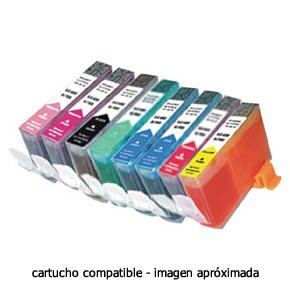 CARTUCHO COMPATIBLE HP 363 C8721EE NEGRO 1