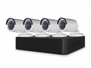 KIT VIDEOVIGILANCIA CONCEPTRONIC 8C. 4C. 1TB 1080P 1