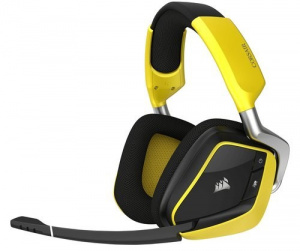 AURICULARES CORSAIR VOID PRO RGB WIRELESS AMARILLO 1