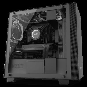 CAJA M-ATX NZXT H400I SMART NEGRO 1