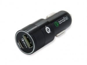 CARGADOR USB RAPIDO COCHE CONCEPTRONIC 36W 1