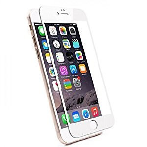 PROTECTOR  CRISTAL TEMPLADO CS IPHONE 6/6S BLANCO 1